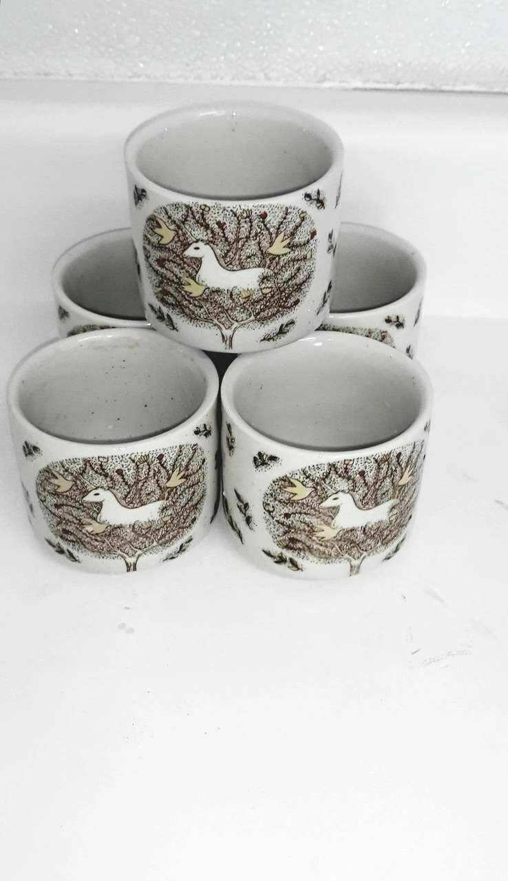 Vintage Otagiri Unicorn Tea Cups