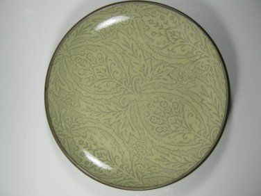 "Set of 2 Chandi Sage Stoneware 222 Fifth Salad Plates 8-3/4"""