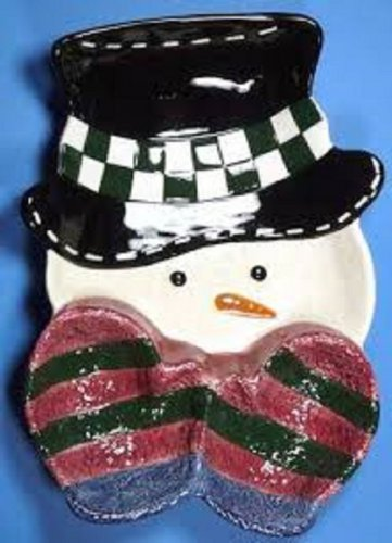 The Snow Friends Collection Chip & Dip Tray By St Nicholas Square 14-1/2""