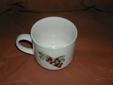 Garden Trellis by Citation  Stoneware Coffee Tea Cup No Chips Or Cracks