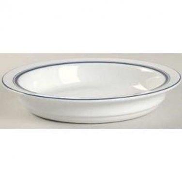 """Dansk Christianshaven Blue Bistro Bowl Porcelain Made in Portugal 7-7/8"""""""
