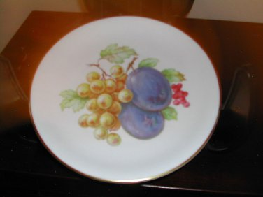 Zeh Scherzer Bavaria China Germany Gold Trimmed Plate