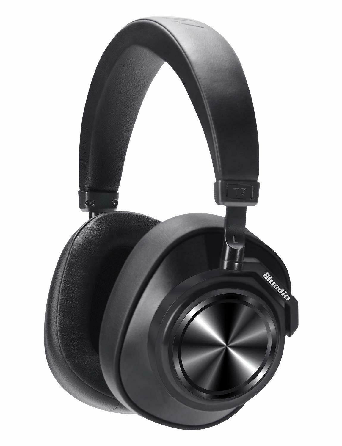 Bluedio T7 Active Noise-Cancelling Headphones (Black)