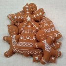 Hand Sewn Wool Felt Gingerbread Cookie | Play Food