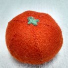 Hand Sewn Wool Felt Orange | Play Food