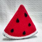 Hand Sewn Wool Felt Watermelon | Play Food