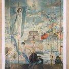'THE DREAM OF COLUMBUS' SALVADOR DALI ORIGINAL SIGNED LITHOGRAPH LIMITED EDITION