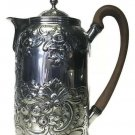 Antique Georgian Patterson Wallace London England Sterling Silver Teapot 1798