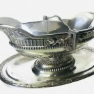 Antique A' Paris France Maison ODIOT Sterling Silver 950 Sauce Boat Early 1800s