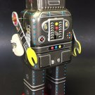 Vintage Space Robot Toy Friction Wind-Up