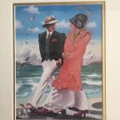 Otto Aguiar Serigraph Signed Limited Edition 'Copacabana' Fine Art