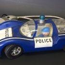 Joustra France Blue White Porche Carrera 906 Police Tinplate Friction 1:15
