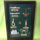 Sailor Rope Knots Nautical Maritime Navy Wall Hanging Frame Display Ship