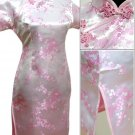 Pink Cute Clubs Mini Chinese Dress / Qipao