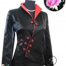 Black Fashion Style Embroiders Chinese Jacket