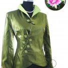 Green Fashion Style Embroiders Chinese Jacket