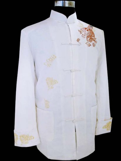 Whirt Noble Chinese Traditional Shirt [CMS-06WT]