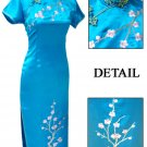 Sky Blue Grace Club Embroidered Dress Evening Gown [CLD-07SB]