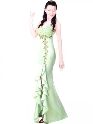 Customer Made Embroider Chinese Tradition Evening Dress[CDC-01]
