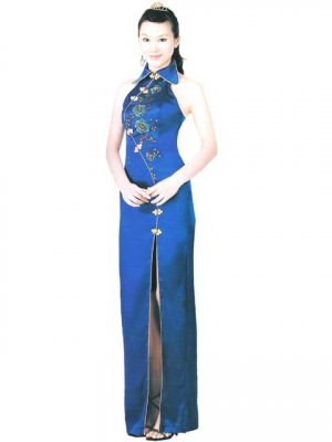 Customer Made Embroider Chinese Tradition Evening Dress [CDC-02]