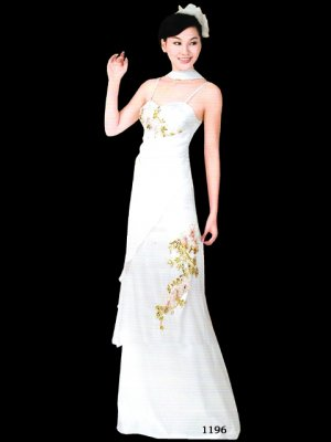 Tradition Customer Made Embroider Chinese Evening Dress [CDC-12]