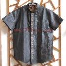 Men's Simple Chinese Shirt Black