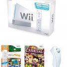 Nintendo Wii 39 Game Bundle - With 39 Fun Games and 4 Controllers