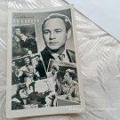Vintage Soviet Actors Postcard Nikolay Rybnikov USSR Film Movie star 1960s