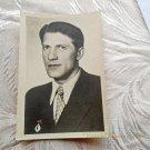 Vintage Soviet Actors Postcard Nikolay Kryuchkov USSR Film russian Movie star 1950s