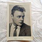 Vintage Soviet Actors Postcard Kirill Stolyarov USSR Film russian Movie star 1960s