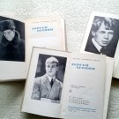 Vintage Book Sergey Esenin Russian Poet Russia Classic Literature Printed USSR Set of 3