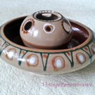 Vintage Ceramic Flower Vase Flying Saucer Soviet Home Decor USSR 1970s