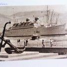 Soviet Navy Ship Admiral Nakhimov Vintage Postcard Russian USSR 1960s