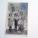 Vintage Soviet Postcard First May Labour Day Greeting Card Children 1960s