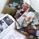 Vintage Soviet Postcards Actors Leningrad Film Movie Stars USSR 1970s Set 16
