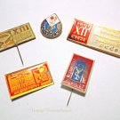 Vintage Soviet Medical Pin Medicine Badge Russian Collectible Souvenir Gift for Doctor USSR 1970s