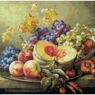 Counted cross stitch pattern paper charts Still life art of Gabor Toth