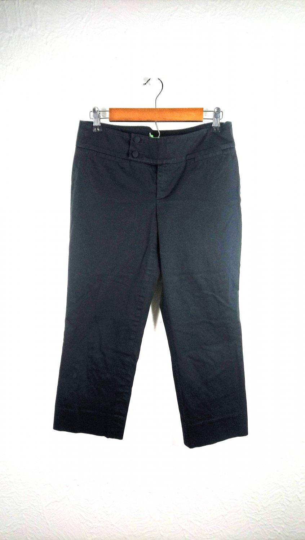 Lilly Pulitzer Classic Capris Pants Black Size 6