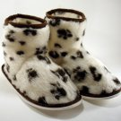 Ladies Slippers Warm Fur Ankle Boots Women Girls Winter Bootie Shoes