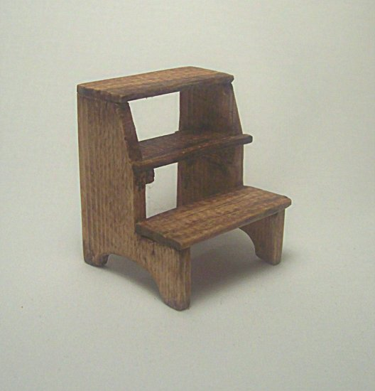 Step Stool--Stained
