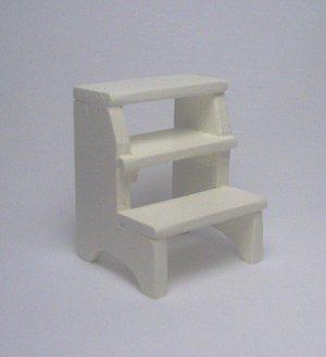 Step Stool--Off White