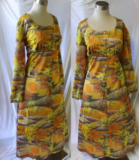 Vintage maxi dress deadstock never worn