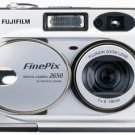 Fujifilm FinePix 2650 2MP Digital Camera w/ 3x Optical Zoom, Model: 2650 (R)