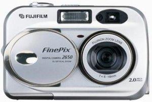 Fujifilm FinePix 2650 2MP Digital Camera w/ 3x Optical Zoom, Model: 2650 (R)