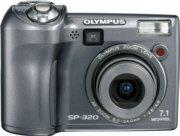 Olympus SP-320 7.1MP Digital Camera with 3x Optical Zoom, Model: sp-320 (R)