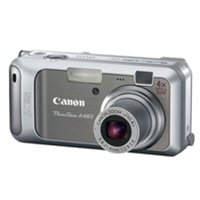 Canon PowerShot A460 5.0MP Digital Camera with 4x Optical Zoom, (ecf)