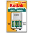 KODAK Ni-MH 1-Hour Battery Charger K6100-C+4