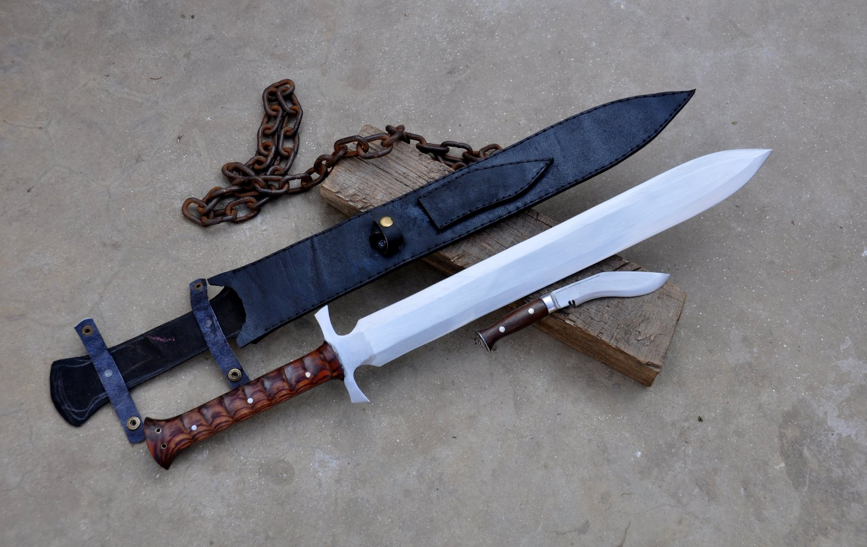 21 inches Blade custom sword kukri/khukuri-Handmade kukri-sword-knives from Nepal