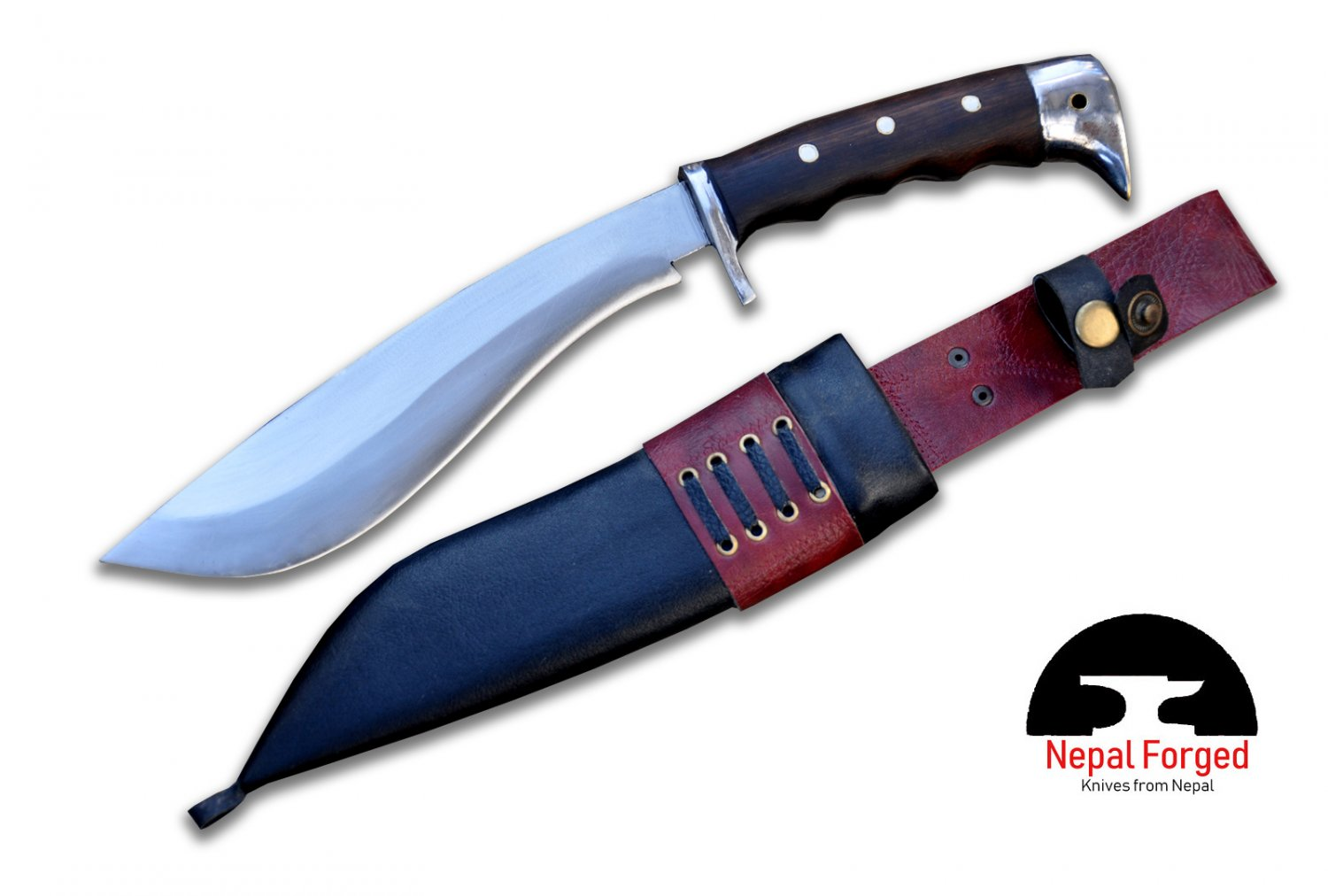 9 inches Blade Bowie knife-Handmade Bowie-Hunting knife-full tang machete-Ready to use