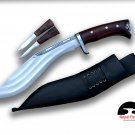 10 inches Blade 3 Chirra kukri knife-Gurkha knife-knives from Nepal-Handmade kukri from Nepal